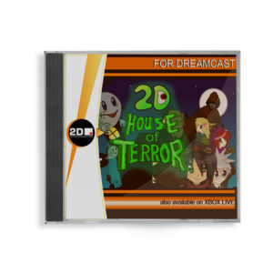 SEGA Dreamcast 2D House of Terror Region FREE front