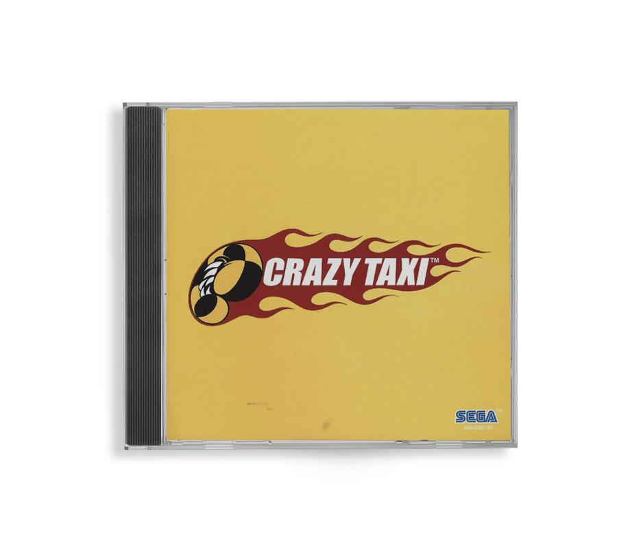 Crazy taxi game for Sega dreamcast reproduction