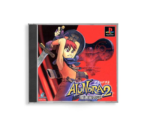 Sony PlayStation 1 PSX Alundra 2: A New Legend Begins NTSC-J (JAP) front