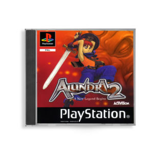 Sony PlayStation 1 PSX Alundra 2: A New Legend Begins PAL (EUR) front