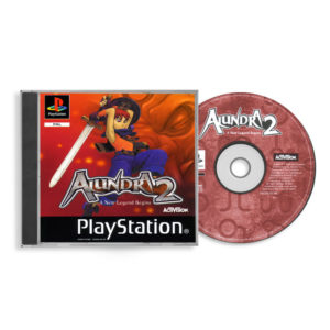 Sony PlayStation 1 PSX Alundra 2: A New Legend Begins PAL (EUR) front cd