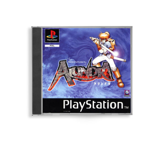 Sony PlayStation 1 PSX The Adventures of Alundra PAL (EUR) front